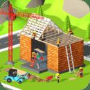 模拟挖掘机建房子