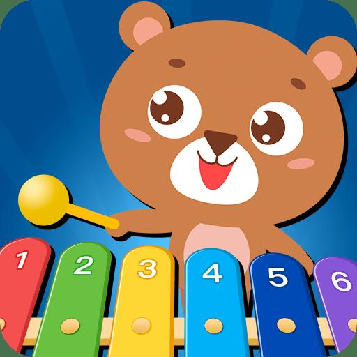 亲亲熊弹木琴